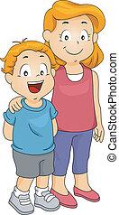 hermana, hermano