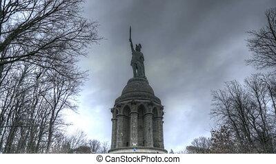 Hermann Memorial - Time lapse Hermann Memorial