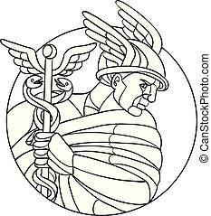 hermes-messenger-god-circ-mosaic