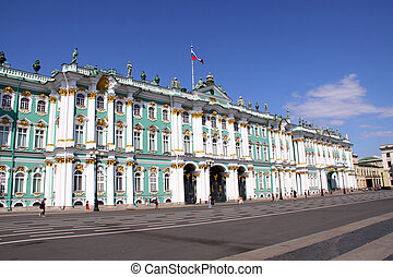 hermitage de estado federal, (saint-petersburg, russia)