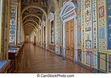 Hermitage Museum - St. Petersburg, Russia - March 21: The...