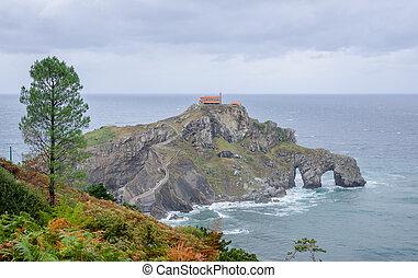 Hermitage of San Juan de Gaztelugatxe, Spain