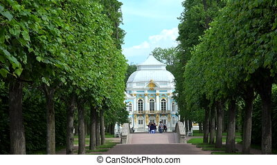 Hermitage. Pushkin. Catherine Park. Tsarskoye Selo.