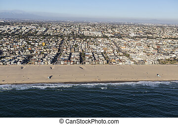Hermosa Beach Neighborhood Near Los Angeles