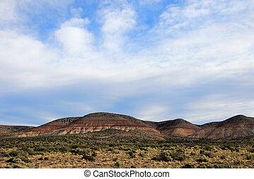 hermoso, argentina, valle, badlands, chubut