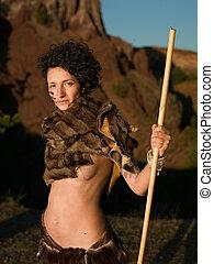 hermoso, cavewoman