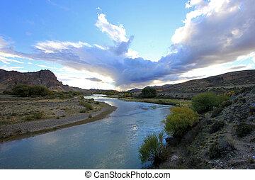 hermoso, chubut, piedra, parada, argentina, valle, paisaje