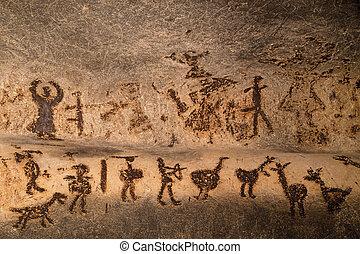 hermoso, Cueva, Dibujos