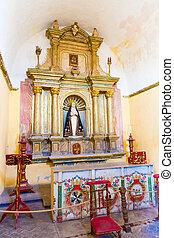 hermoso, de, iglesia vieja, iconos, arequipa, plaza,...