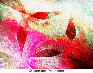 hermoso, deisgn, fractal, abstrac