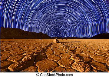 hermoso, duna, formaciones, en, death valley, california