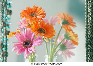 hermoso, flores