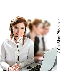 hermoso, helpdesk, corporación mercantil de mujer