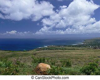 hermoso, isla de pascua