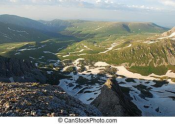 hermoso, montaña, norteño, esto, foto, junio, paisaje, 2009...
