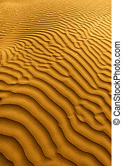 hermoso, muerte, duna, arena, california, formaciones, valle