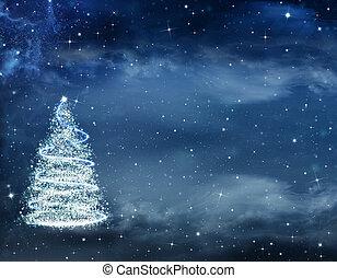 hermoso, navidad, plano de fondo