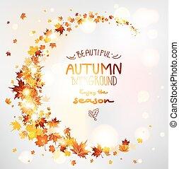 hermoso, otoño
