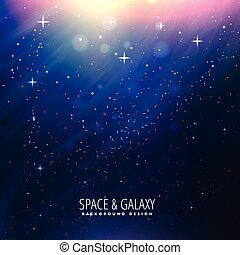 hermoso, plano de fondo, espacio