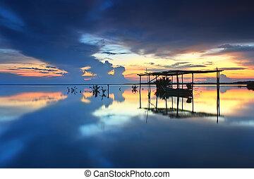hermoso, reflexión