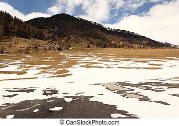 hermoso, suizo, ubicación