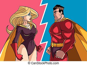 Hero versus Heroine