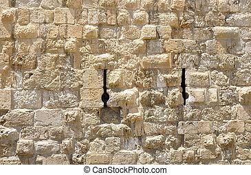 Herodian Wall. Jerusalem Old City