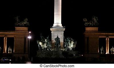 Heros's Square, Budapest