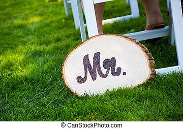 herr, stallknecht, wedding, zeichen