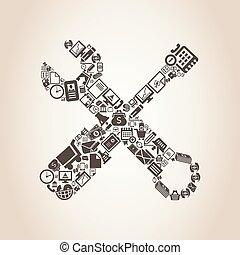 herramienta, empresa / negocio