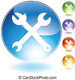 herramienta, icono