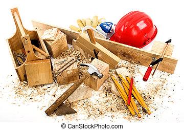 herramientas, carpenter's