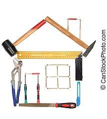 herramientas, casa