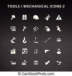 herramientas, iconos