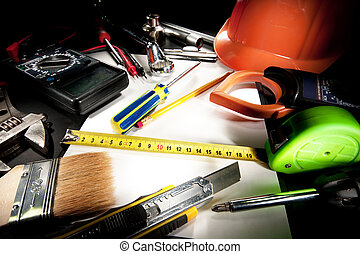 herramientas, montón