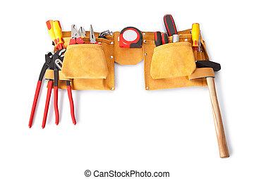 herramientas, vario, toolbelt
