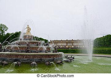 herrenchiemsee, alemania, palacio