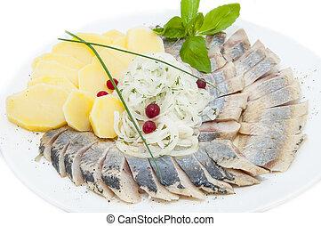 herring - Herring with potato