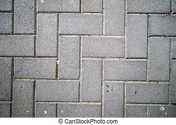 herringbone pattern brick