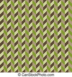 Herringbone pattern of the figures khaki