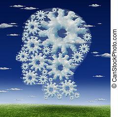 hersenen, hoofd, toestellen