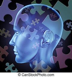 hersenen, onzeker