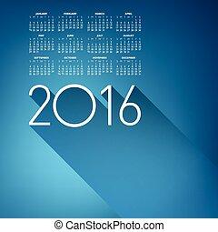 herskabelig, kalender, 2016