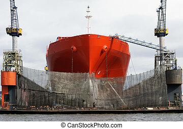 herstelling, schepen