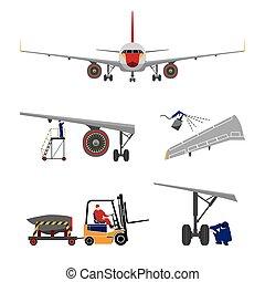herstelling, vliegtuig, onderhoud
