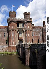 herstmonceux, αγγλία , κάστρο