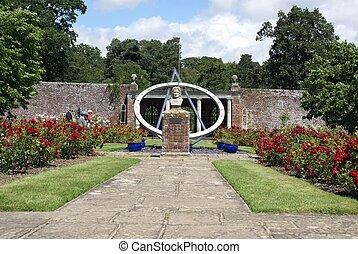 herstmonceux, κάστρο , αγγλία , κήπος
