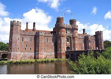 herstmonceux, κάστρο , αγγλία