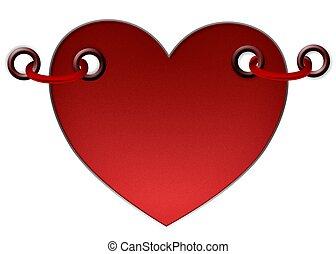 Herz, Aufkleber, Etiketten - herz, aufkleber, etiketten