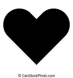 farbe herz schwarz menschliche isolated herzfarbe vektor suche clipart illustration. Black Bedroom Furniture Sets. Home Design Ideas